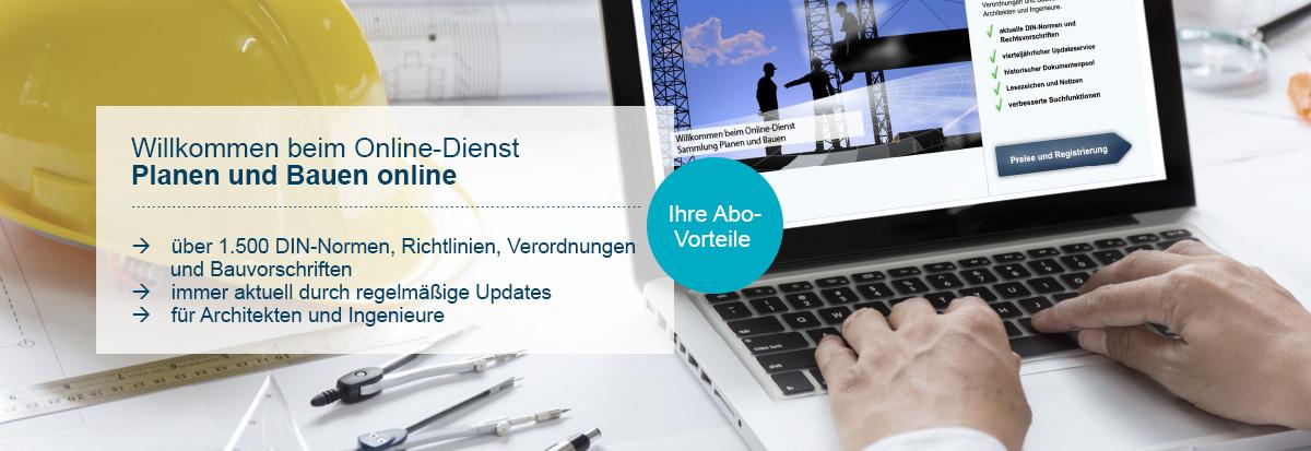 Planen und Bauen online